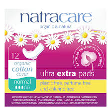 Natracare Regular Ultra Pads with Wings