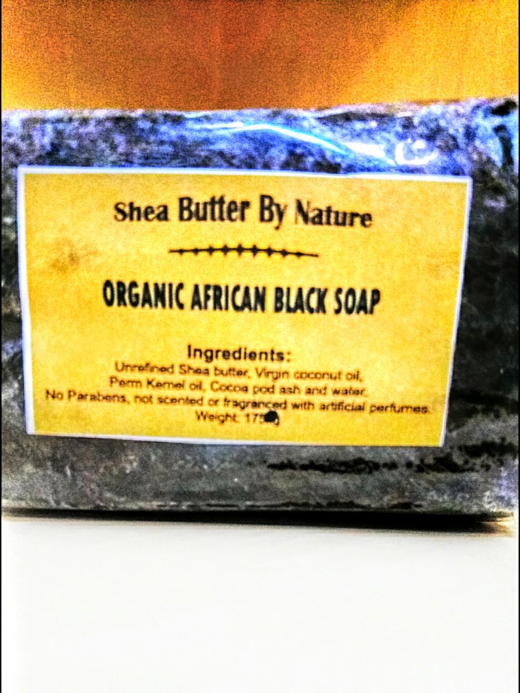 Organic African Black Soap X 5