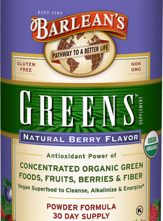 Barleans Greens Organic Berry Powder 249g