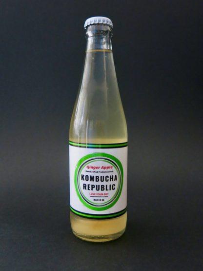 Kombucha Republic Ginger Apple 330ml