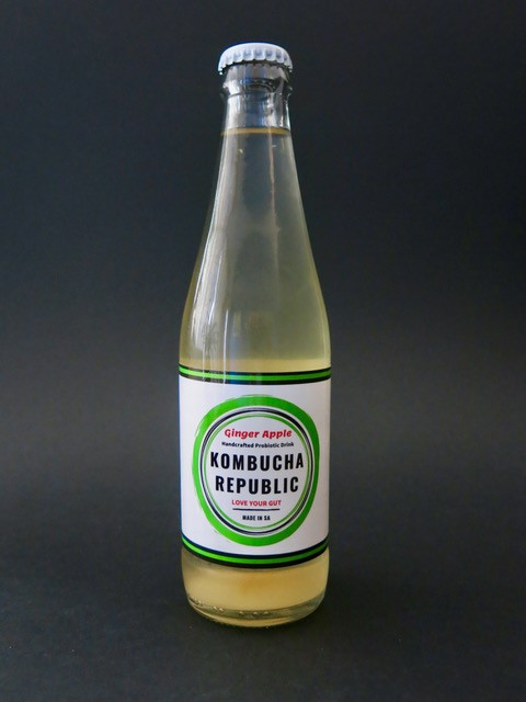 Kombucha Republic Ginger Apple 330ml