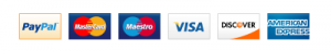 image of Credit and debit card accepted at feel healthy online store