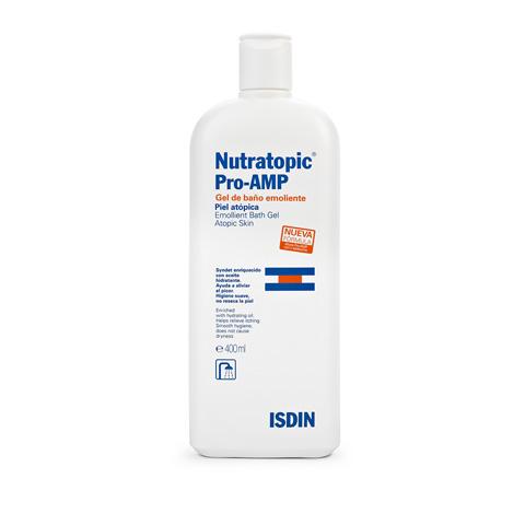 Nutratopic Pro-AMP Emollient Bath Gel 400ml