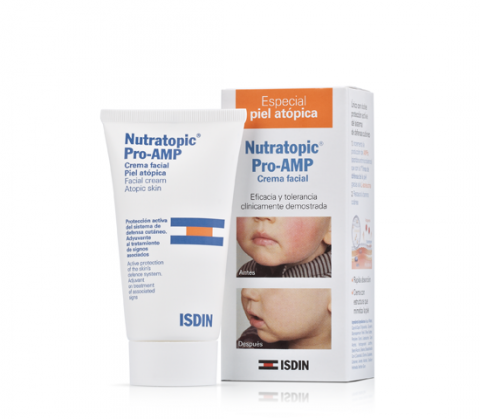 Nutratopic Pro-AMP Facial cream Atopic Skin