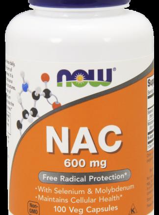 NAC 600 mg Veg Capsules