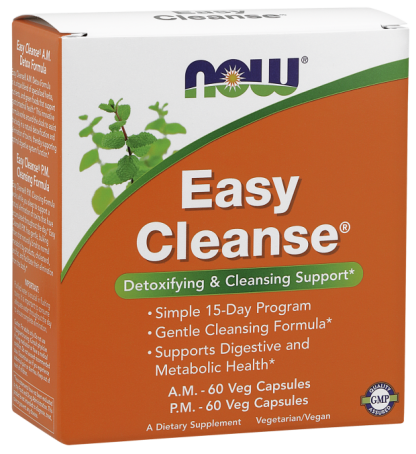 Now Foods Easy Cleanse AM PM Veg Capsules