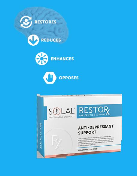Solal Restor X Anti Depressant Support