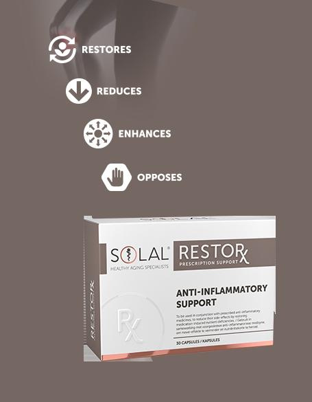Solal RestorX Anti Inflammatory Support