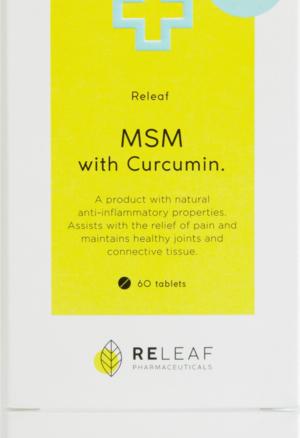 Releaf MSM with Curcumin