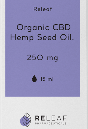 Organic CBD Hemp Oil 250mg