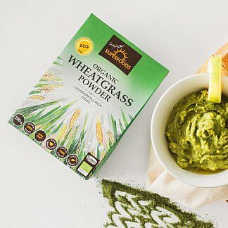 Superfoods Organic Wheat Grass Powder