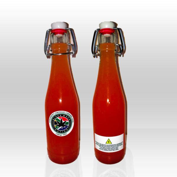 Strawberry-lemonade Cannabis Juice
