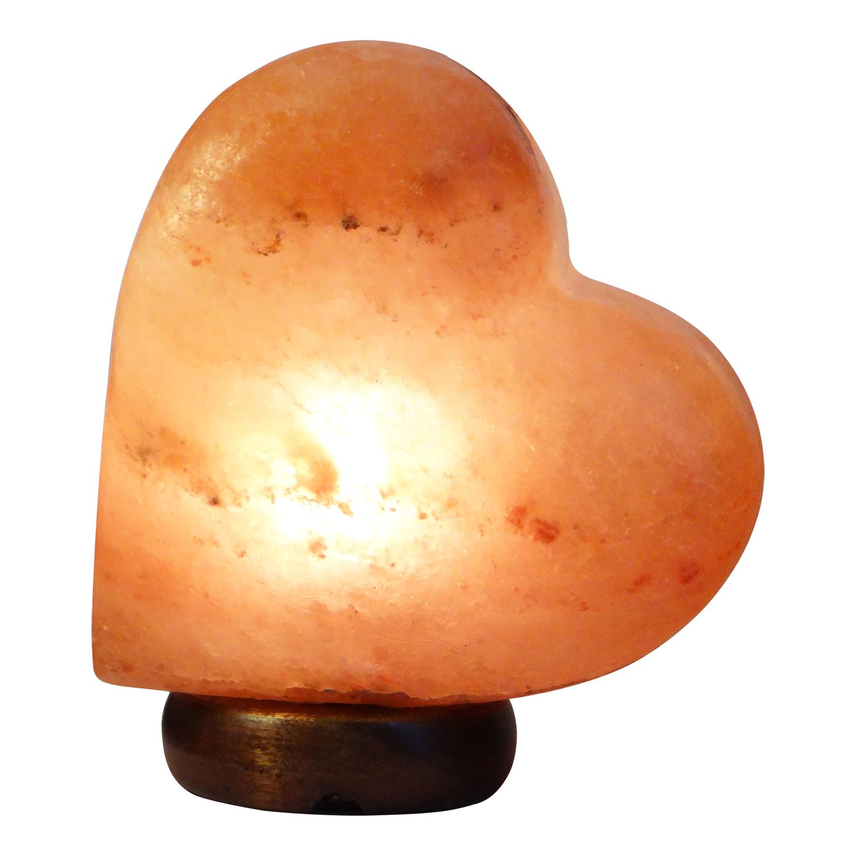 Himalayan Salt Lamp Heart Shape