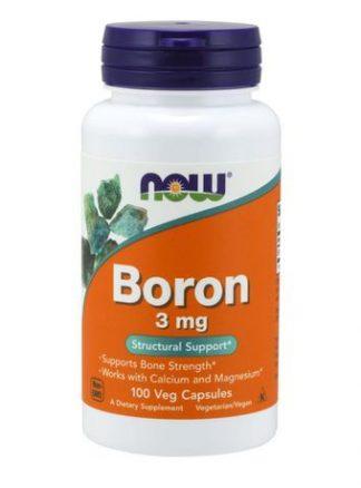 Now Boron 3mg Capsule