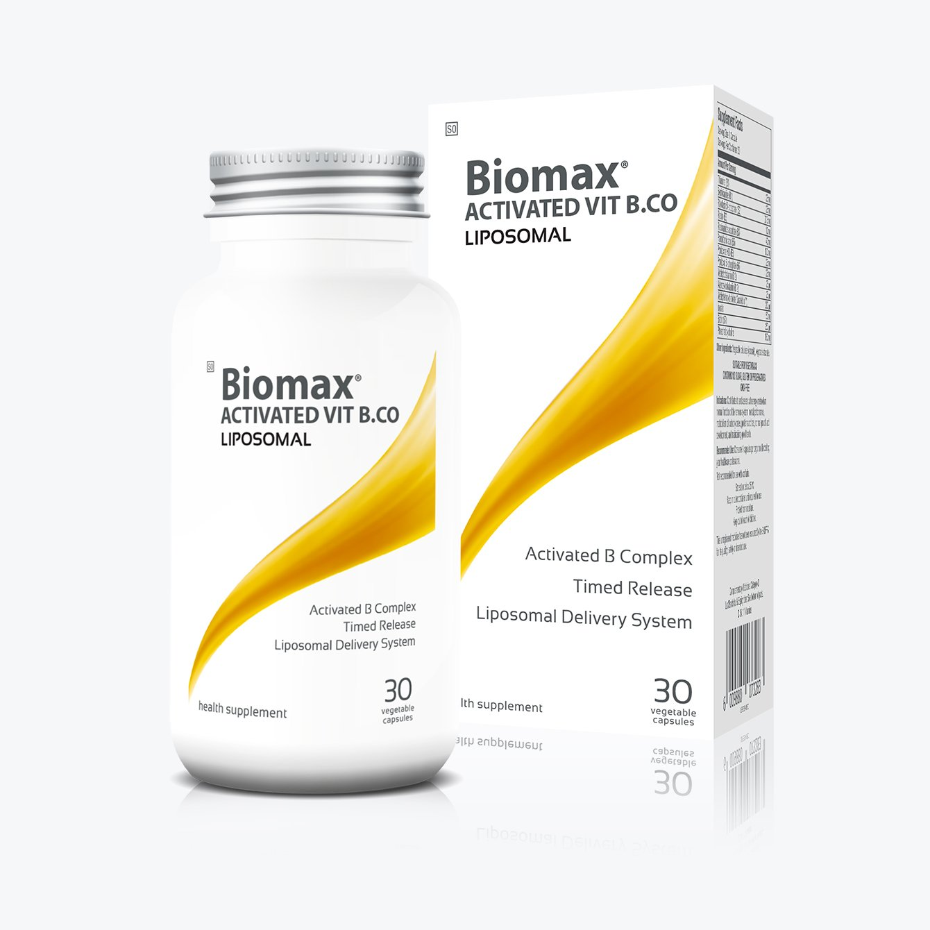 Biomax Activated Vitamin B Complex Liposomal