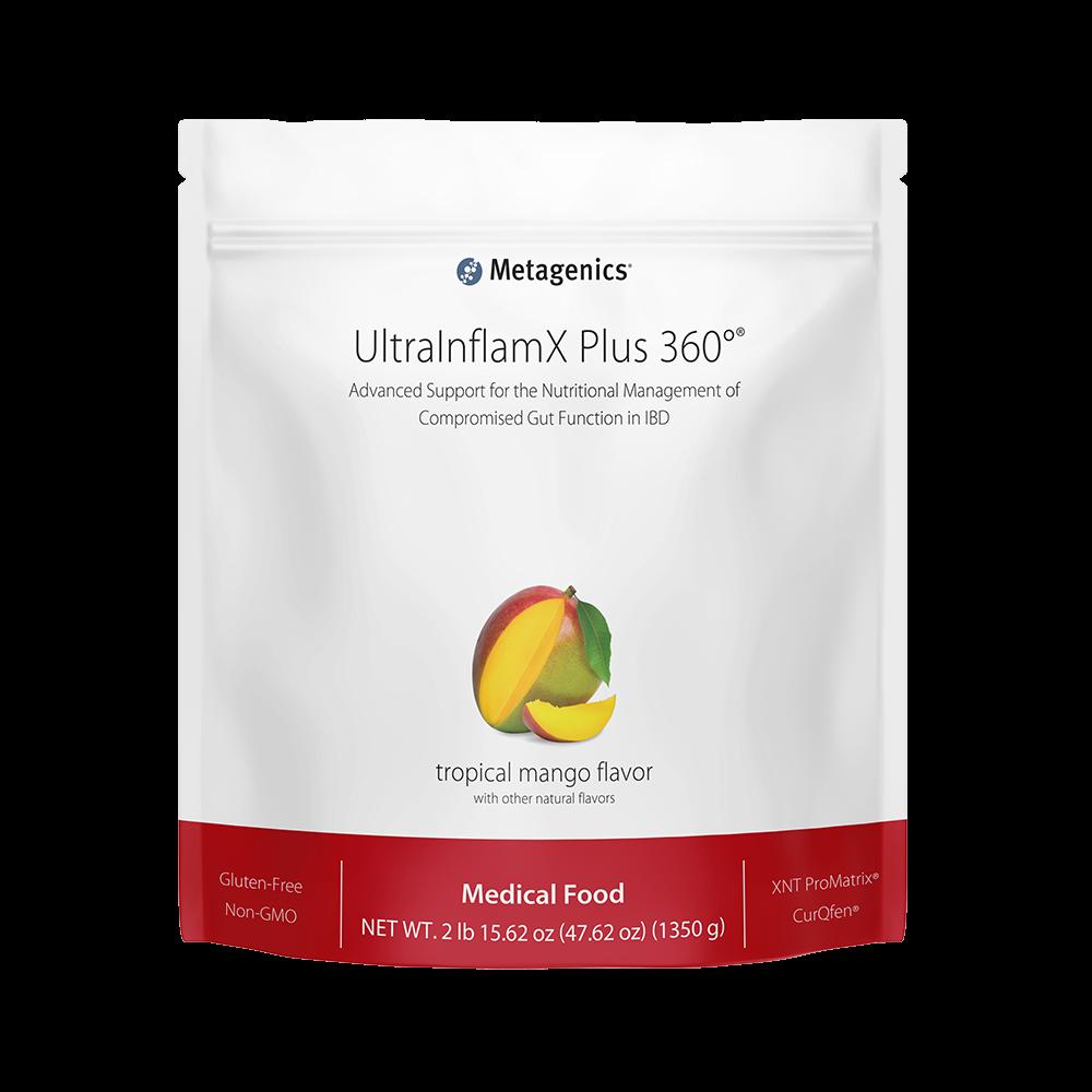 Metagenics UltraInflamX Plus 360 Mango