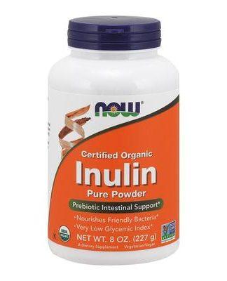 Now Foods Organic Inulin Powder 225g