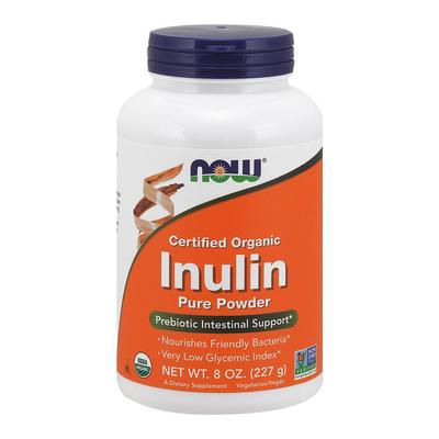 Now Foods Organic Inulin Powder 225g