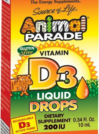 Animal Parade Vitamin D3 200 IU Liquid Drops