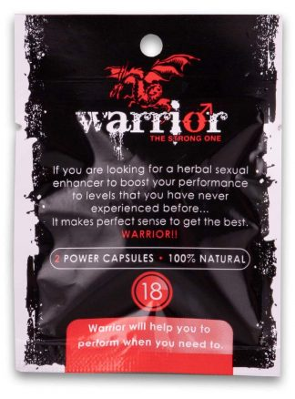 Warrior The Strong One Capsules